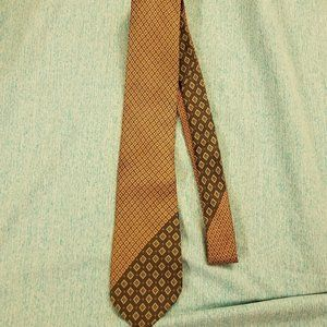 EUC Pierre Cardin Men's Tie Brown Black Blue
